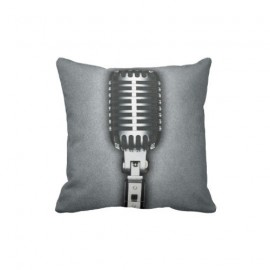 Wilcox-Sound-Vintage-Microphone-Throw-Pillow